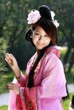 Klassieke schoonheid in China. Stock Foto's