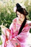 Klassieke schoonheid in China. Royalty-vrije Stock Fotografie