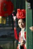 Klassieke schoonheid in China. Stock Afbeelding