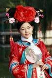 Klassieke schoonheid in China. Royalty-vrije Stock Afbeelding