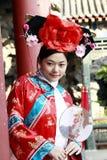 Klassieke schoonheid in China. Stock Fotografie