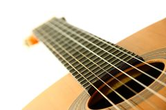 Klassieke Spaanse gitaar Stock Fotografie