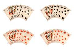 Klassieke speelkaarten Stock Foto's