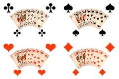 Klassieke speelkaarten Royalty-vrije Stock Afbeeldingen