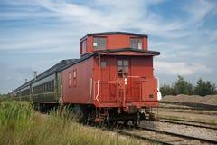 Klassieke spoorwegwagen Royalty-vrije Stock Foto's