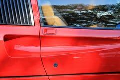 Klassieke sportwagendeur Royalty-vrije Stock Afbeelding