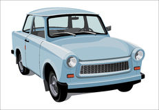 Klassieke stadsauto Royalty-vrije Stock Afbeelding