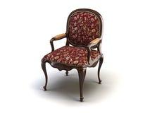 Klassieke stoel stock illustratie