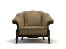 Klassieke stoel royalty-vrije illustratie