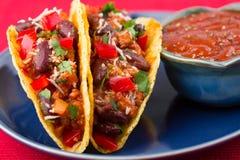 Klassieke Taco Royalty-vrije Stock Afbeeldingen