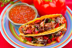 Klassieke Taco Royalty-vrije Stock Afbeelding