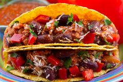 Klassieke Taco Stock Fotografie