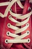 Klassieke Tennisschoenen Stock Foto's