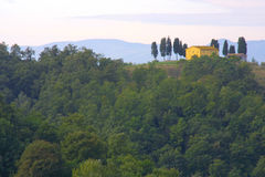 Klassieke Toscaanse Boerderij Royalty-vrije Stock Afbeeldingen