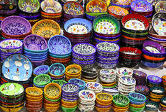 Klassieke Turkse keramiek royalty-vrije stock afbeeldingen