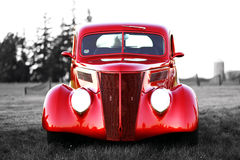 Klassieke uitstekende auto Stock Afbeelding
