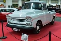 : Klassieke uitstekende auto bij carshow Stock Afbeeldingen