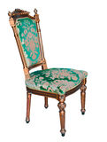 Klassieke uitstekende stoel Royalty-vrije Stock Foto's