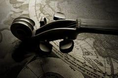 Klassieke viool Stock Afbeeldingen
