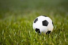 Klassieke voetbalbal stock fotografie