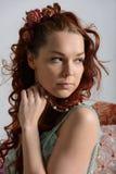 Klassieke vrouwenschoonheid Royalty-vrije Stock Fotografie