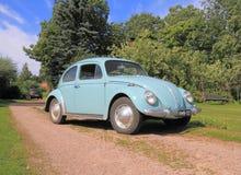 Klassieke VW-Kever, modell 1962 Royalty-vrije Stock Fotografie