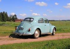 Klassieke VW-Kever, modell 1962 Stock Foto's