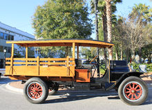 Klassieke Witte auto Stock Foto's