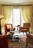 Klassieke woonkamer Royalty-vrije Stock Foto's