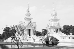 Klassieke zwart-wit Royalty-vrije Stock Foto's