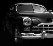 Klassieke Zwarte Auto royalty-vrije stock fotografie