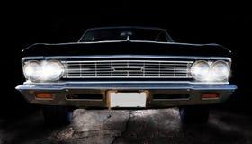 Klassieke zwarte auto Royalty-vrije Stock Foto's
