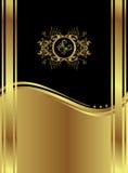 Klassieke Zwarte Backround Royalty-vrije Stock Afbeelding