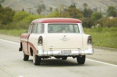 1955 klassificera den Ford herrgårdsvagnen Royaltyfri Fotografi