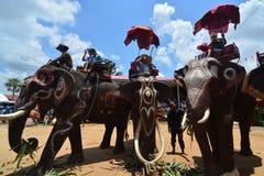 Klassifikations-Parade auf Elephant's-Rückseiten-Festival Lizenzfreies Stockfoto