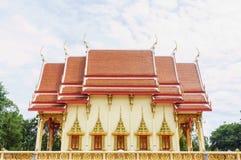 Klassifikationshalle des Tempels Wat PhuTonUTidSitThaRam in Surat t Stockfoto