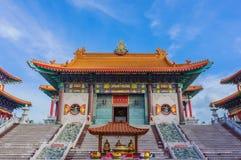 Klassifikationshalle des wat boromracha Tempels in Bangkok, Thailand Lizenzfreie Stockfotos