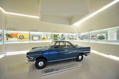 1964 Klassiker BMW 700 auf Anzeige in BMW-Museum Stockbilder