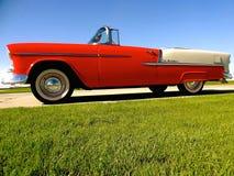 Klassiker Chevy 1955 royaltyfria bilder