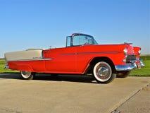 Klassiker Chevy 1955 Arkivfoton