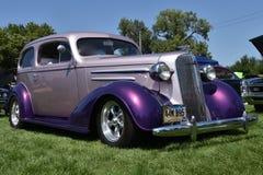 1936 klassiker Chevy Master Sedan royaltyfri fotografi