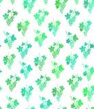 Klassiker för modell för blom- bandfärgtextur modern royaltyfri illustrationer