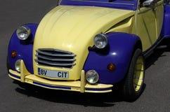 Klassiker retro bil fotografering för bildbyråer