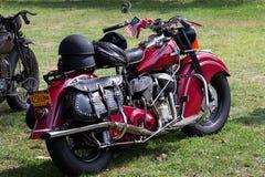 Klassiker- & tappningmotorcyklar Royaltyfri Bild