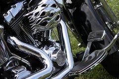 Klassiker- & tappningmotorcyklar Fotografering för Bildbyråer