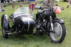 Klassiker- & tappningmotorcyklar Royaltyfria Foton