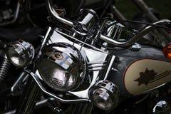 Klassiker- & tappningmotorcyklar Arkivfoton