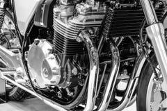 Klassiker von Motorradmaschinen Stockbilder