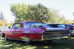 Klassiker wieder hergestelltes rotes Mercury Lizenzfreie Stockfotografie