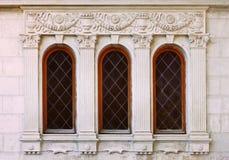 Klassikerfönster Arkivbild